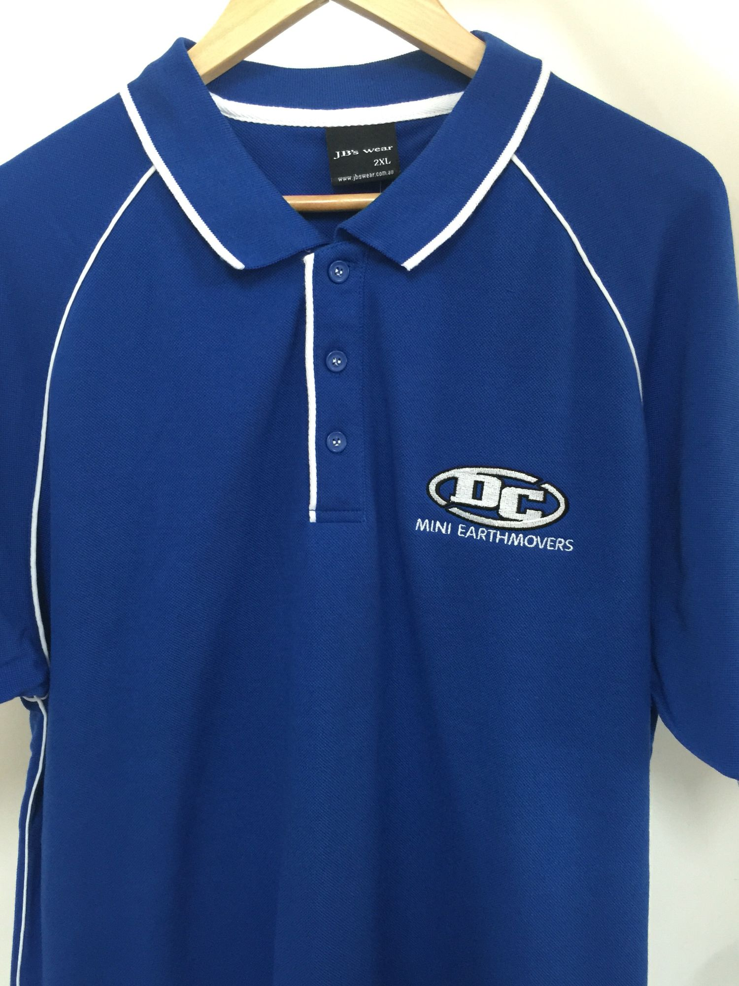 Workwear Polo Shirts With Logo Jubilee Embroidery Perth Uniforms