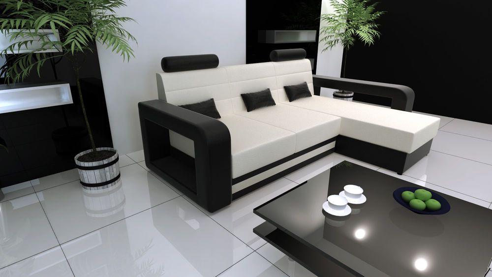 Design wohnlandschaft miami  Couch Garnitur Schlafsofa Polsterecke Sofagarnitur Sofa MIAMI ...
