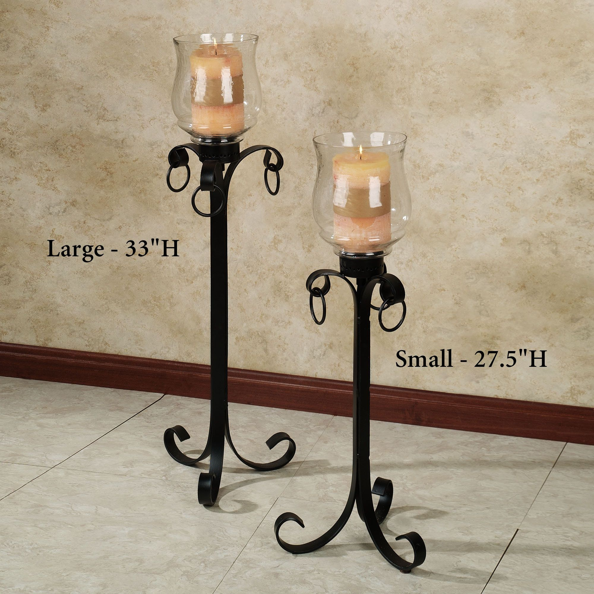 Tall Candle Holders for Fireplace | Fireplace | Pinterest ...