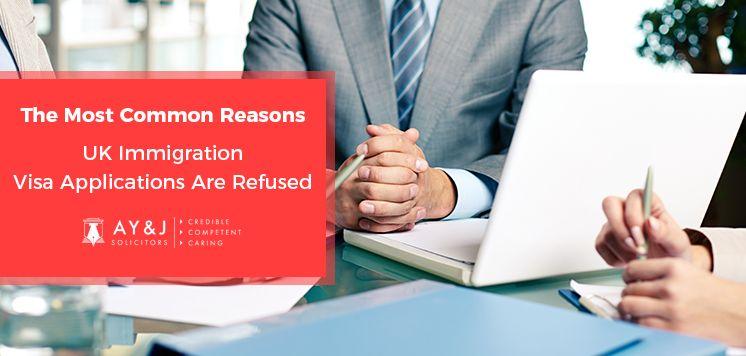 Common Reasons Uk Immigration Visa Applications Refused