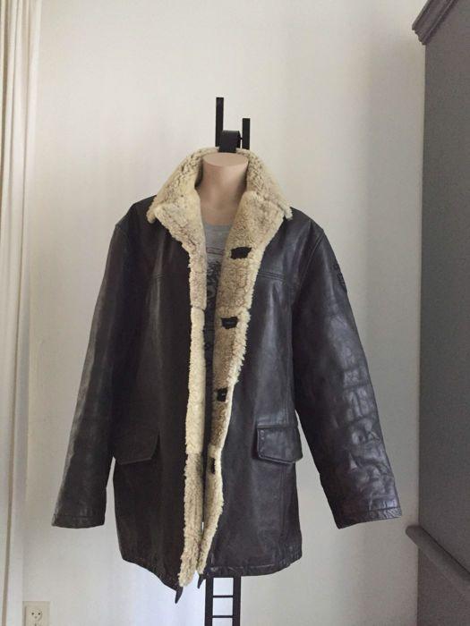 23e30a36cf1 Pall Mall American Classic - Jas U biedt op een ORIGINELE vintage leren  PALL MALL jasDe