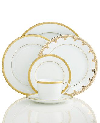 Strange Charter Club Grand Buffet Gold Dinnerware Collection Home Interior And Landscaping Transignezvosmurscom