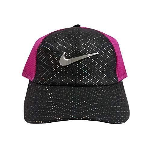 NIKE WOMEN S AEROBILL LEGACY 91 PERFORATED MESH GOLF HAT PINK BLACK  AQ2986-011  fashion  clothing  shoes  accessories  womensaccessories  hats  (ebay link) 1142d8a6a74