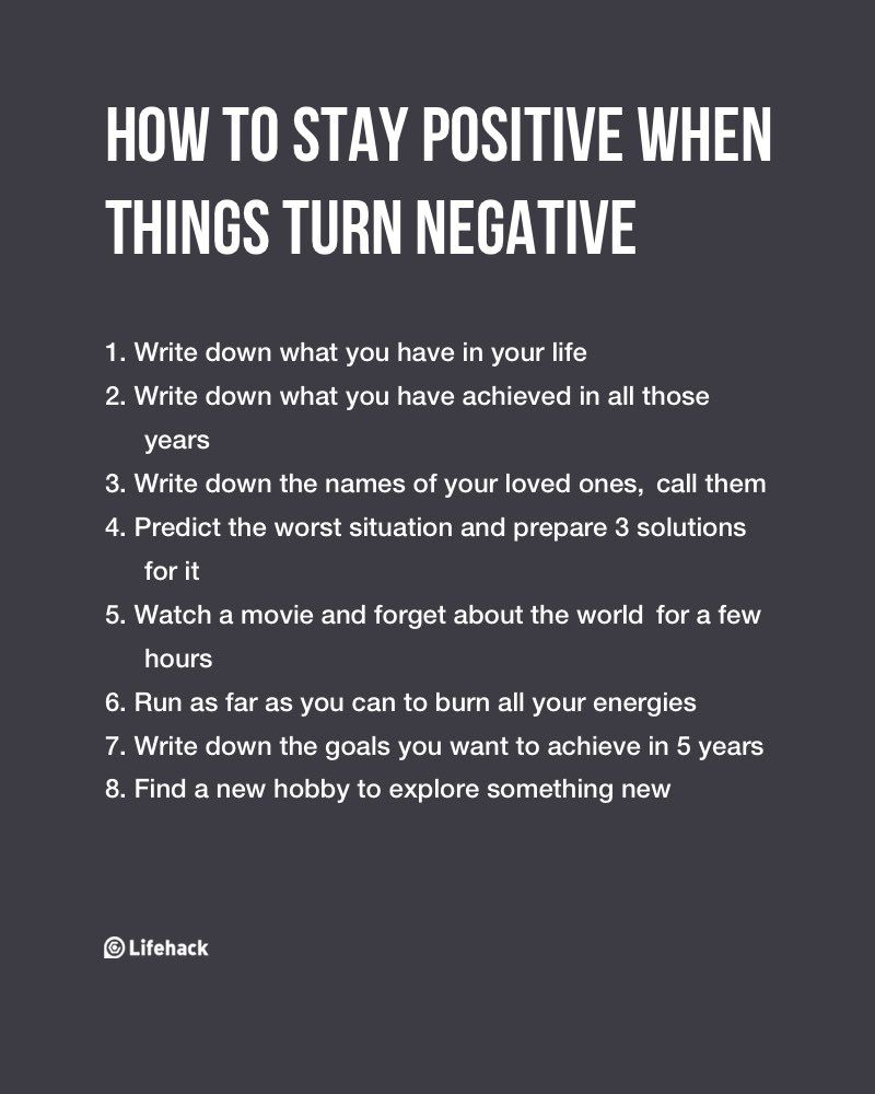 Staying Positive Quotes How To Stay Positive When Things Turn Negative  Positive