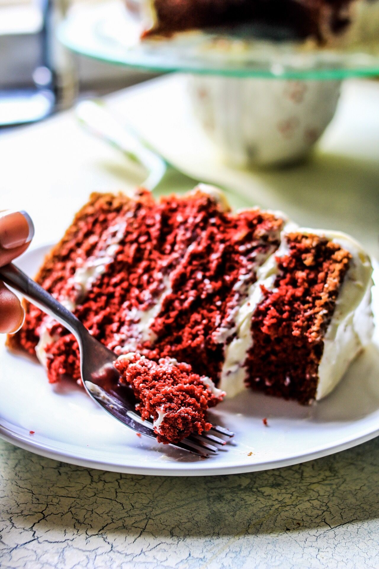 Gluten free red velvet cake without buttermilk off the