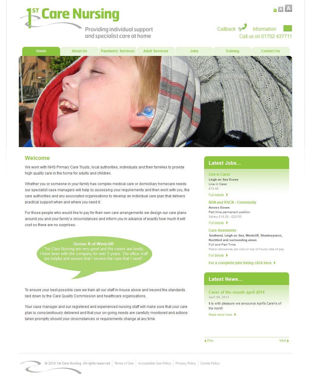 1st Care Nursing Ltd Nurseries & Creches A 38 Hamlet Ct