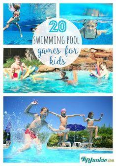 20 Fun Swimming Pool Games For Kids Pool Games Kids Pool Games Pool Activities