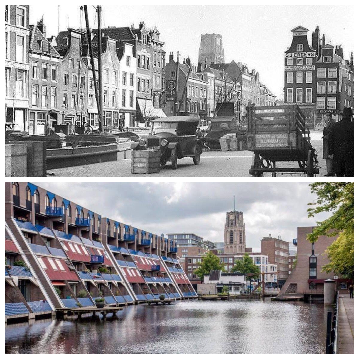 Haagsche Veer, vroeger en nu.