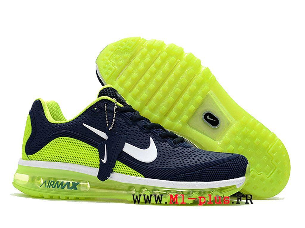 hot sale online 6d561 353eb Chaussures Nike Air Max 2017.5 Boutique Plastique Baisse KUP de Pour Homme  Bleu jaune