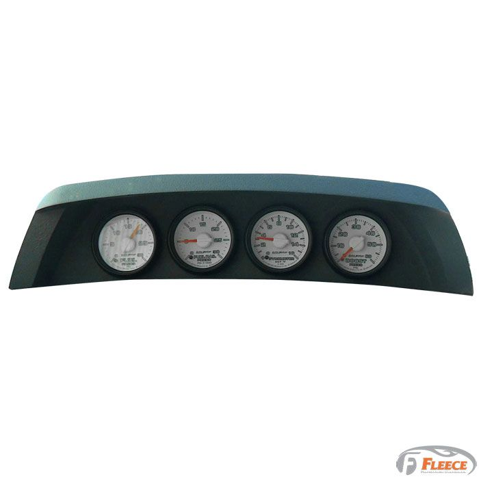 Fleece Performance Cw4 Gauge Dash Pod Dodge Ram 2006 2009 Dodge Ram Dodge Ram