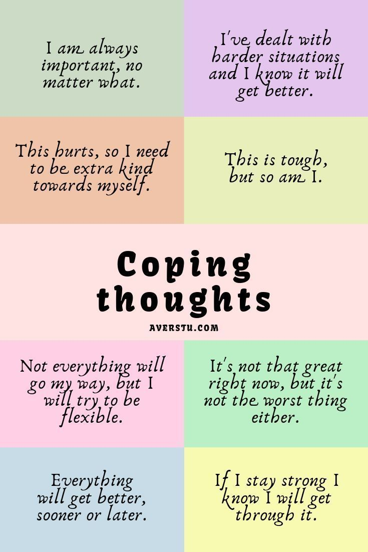 Pin on Coping Strategies // Dealing with Emotions