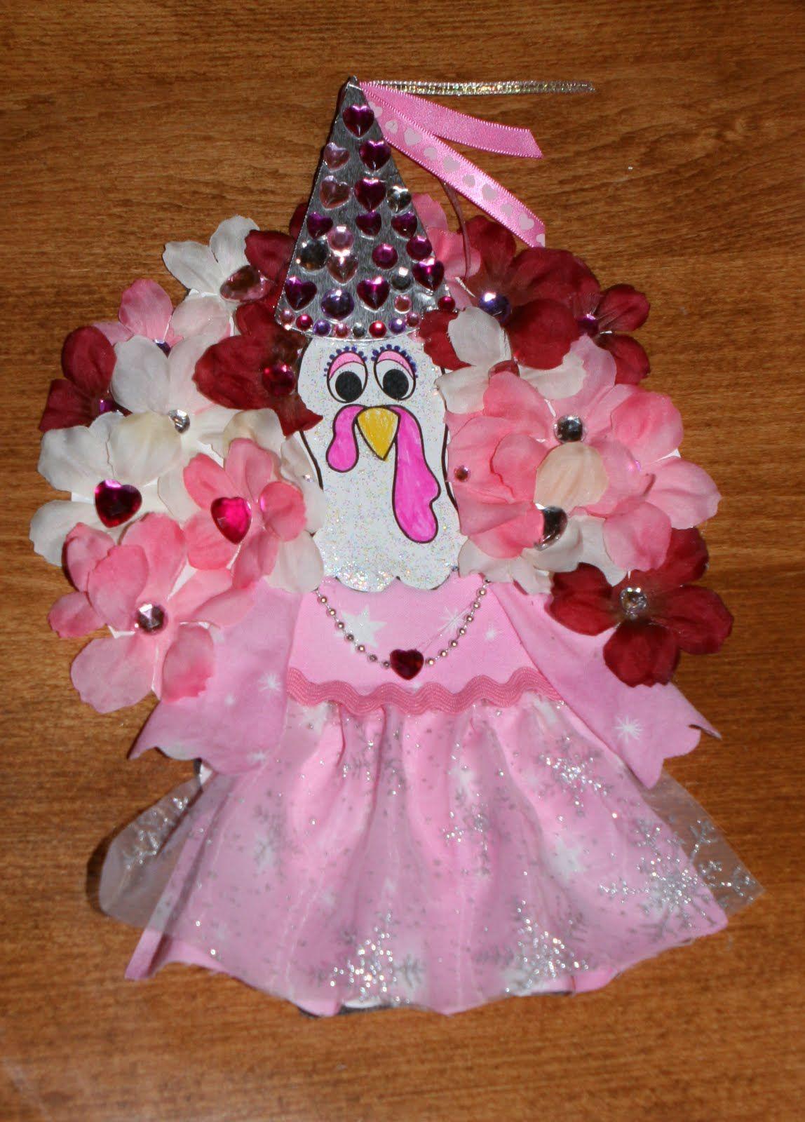 Disguise A Turkey As A Princess