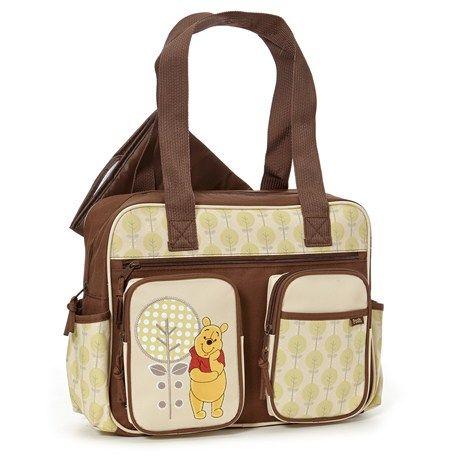 Winnie The Pooh Diaper Bag   Disney Diaper Winnie The Pooh Bag  Winnie The Pooh Baby Bag