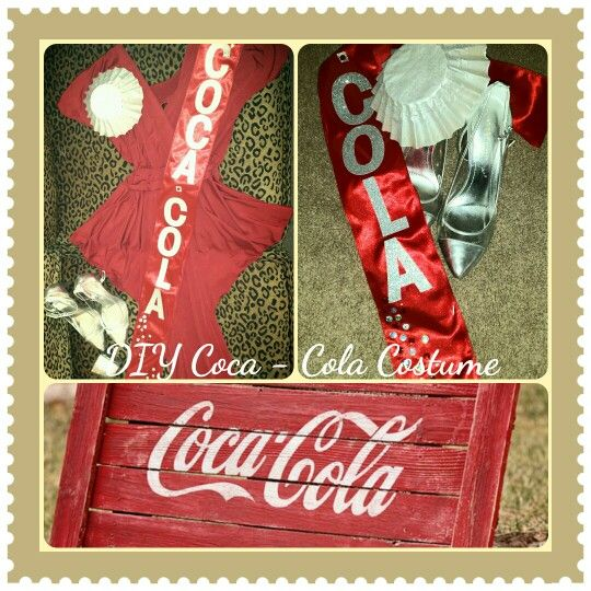 diy coca cola costume for jack coke couples costume made by yours truly d r e s s u p. Black Bedroom Furniture Sets. Home Design Ideas