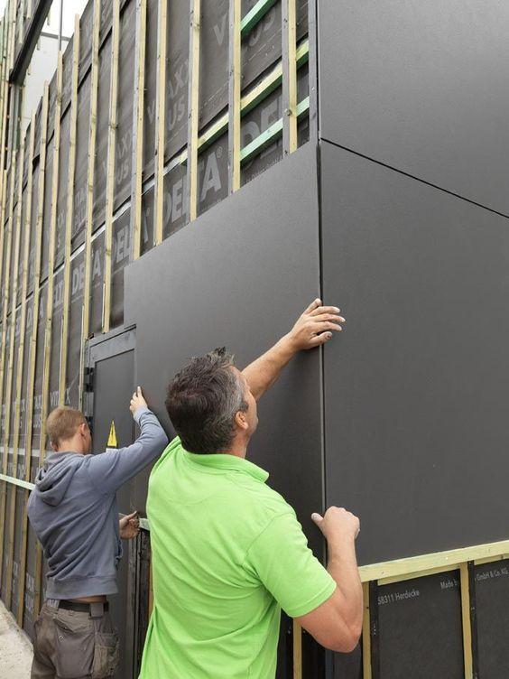 A Revolution In Building Pretty Interesting Wall Facade Solution Decor Units Aussenfassade In 2019 Fassade Haus Hausverkleidung Und Haus Architektur