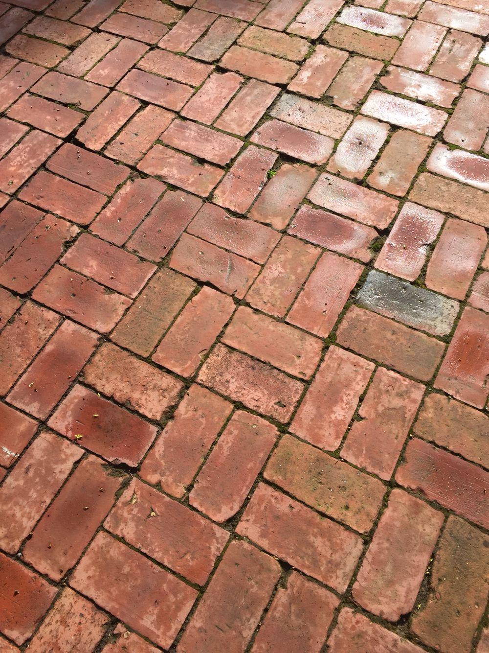 Belaegning Belaegningstegl Tegl Kliker Terrasse Ziegel Bricks