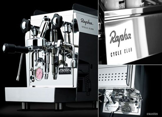 Charming Coffee Machine From Rapha Rocket Expresso Photo