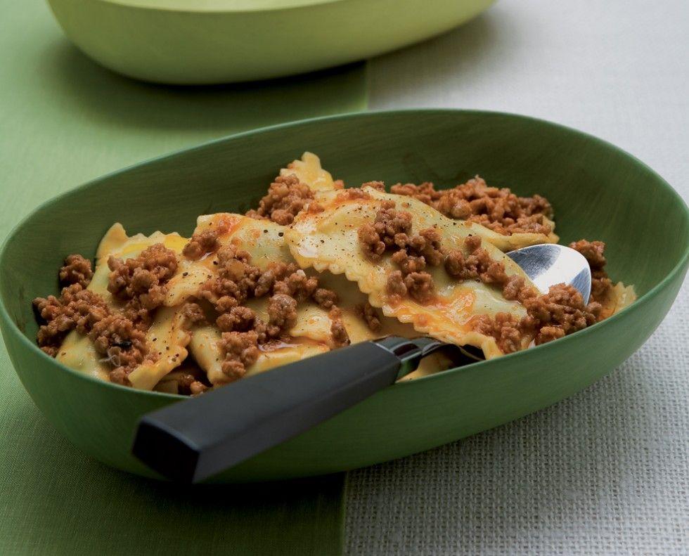 Ravioli di ortiche e spinaci ricetta