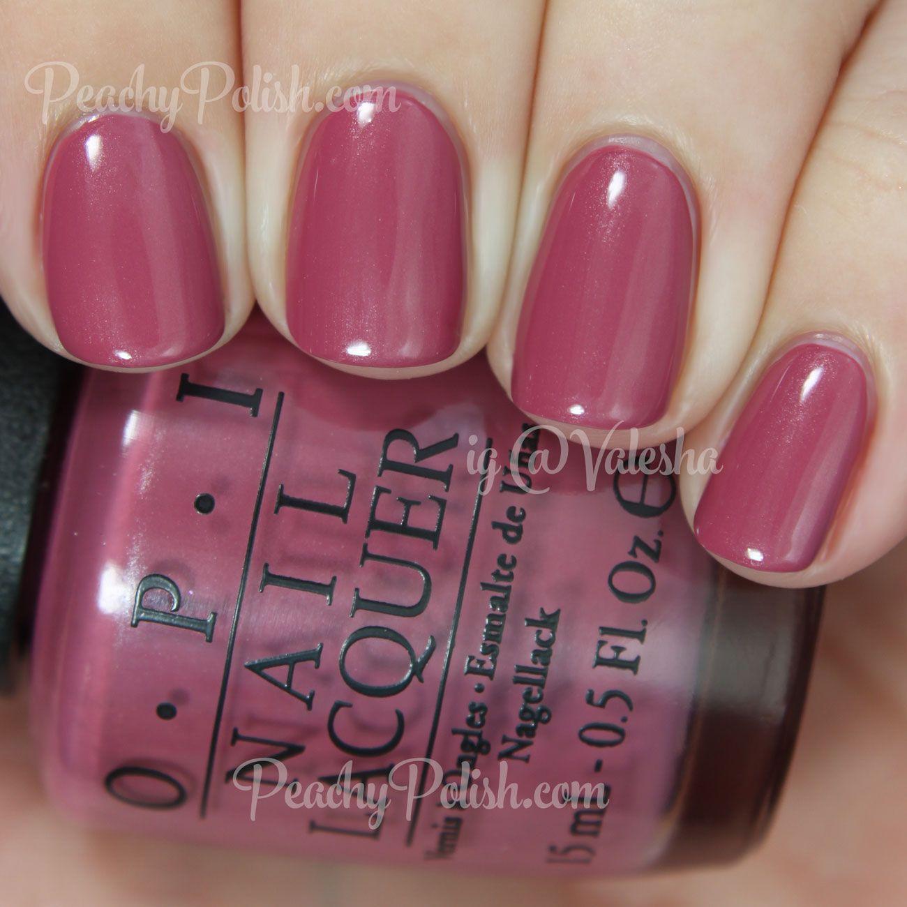 Opi Just Lanai Ing Around Spring 2017 Hawaii Collection Peachy Polish Nail