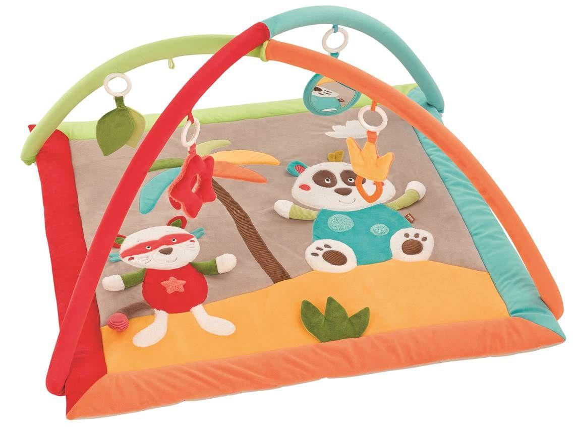 tapis d eveil jungle heroes de babysun
