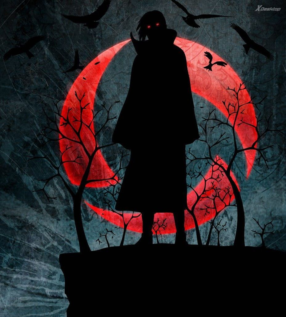 I S Is Black I S A Dread And Eyes Is Red Itachi Naruto Shippuden Hd Wallpaper Naruto Shippuden