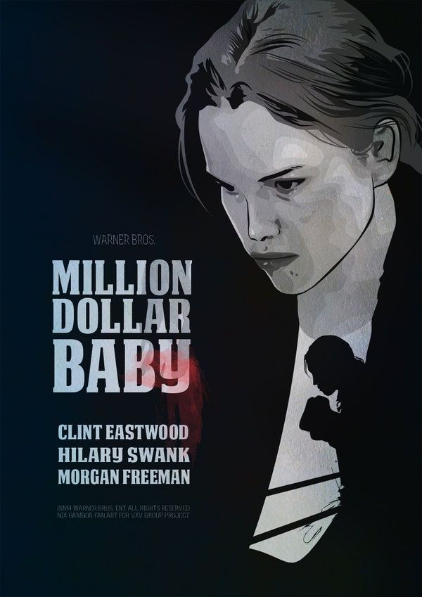 Million Dollar Baby 2004 Alternative Movie Posters Clint Eastwood Movies Must See