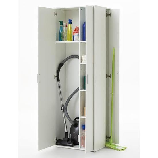 armoire a balai meuble rangement