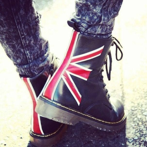 I want to travel in these to London   These Boots