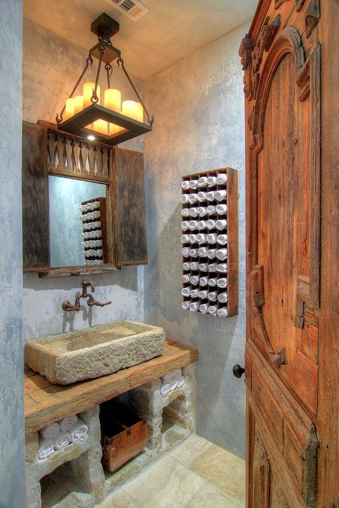 Powder Room Ideas Google Search Rustikale Bader Rustikale Bad Eitelkeiten Rustikale Waschbecken