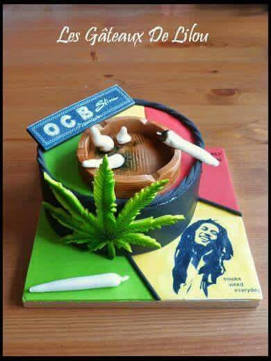 marijuana cake kuchen pinterest cake. Black Bedroom Furniture Sets. Home Design Ideas