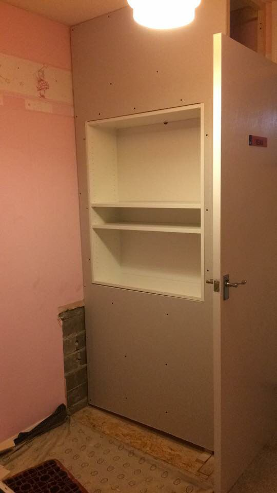 Step 7 Plasterboard Fixed Stair Box In Bedroom Shelves In Bedroom Wardrobe Room