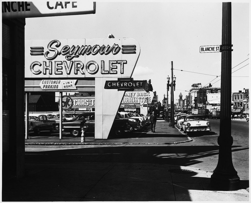 Cambridge Massachusetts Avenue And Blanche Street Seymour - Massachusetts chevrolet dealers