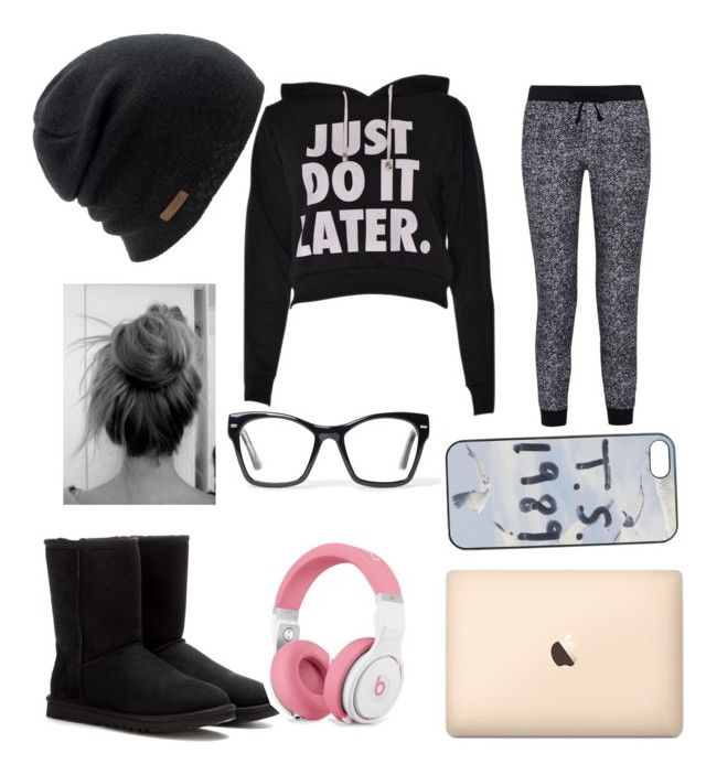 """""""lazy day"""" by lainielovesdivergent ❤ liked on Polyvore featuring Splendid, UGG Australia, Coal and Spitfire"""
