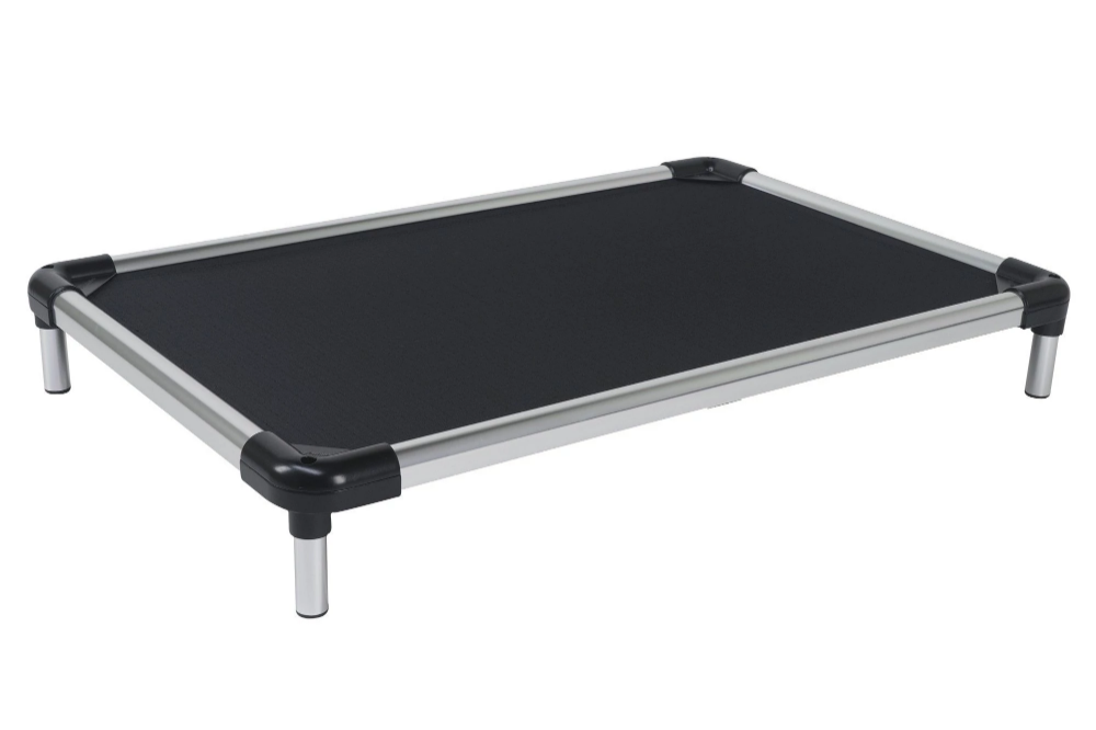Chew Proof Armored Elevated Dog Bed™ Dog bed frame, Dog