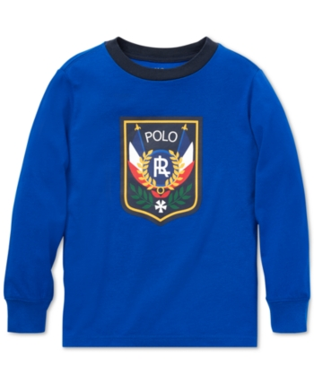 b4f766a4cf Polo Ralph Lauren Toddler Boys Downhill Skier Graphic Long-Sleeve ...