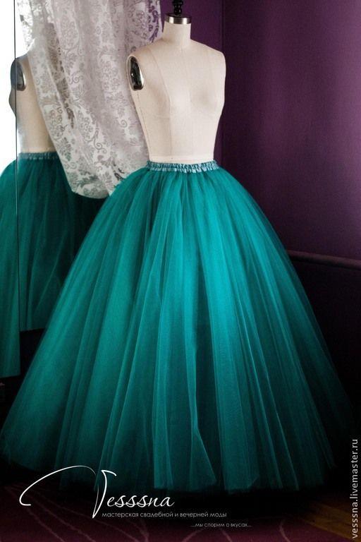 11c032f3348 Купить Длинная пышная юбка из фатина для взрослых - юбка из фатина ...