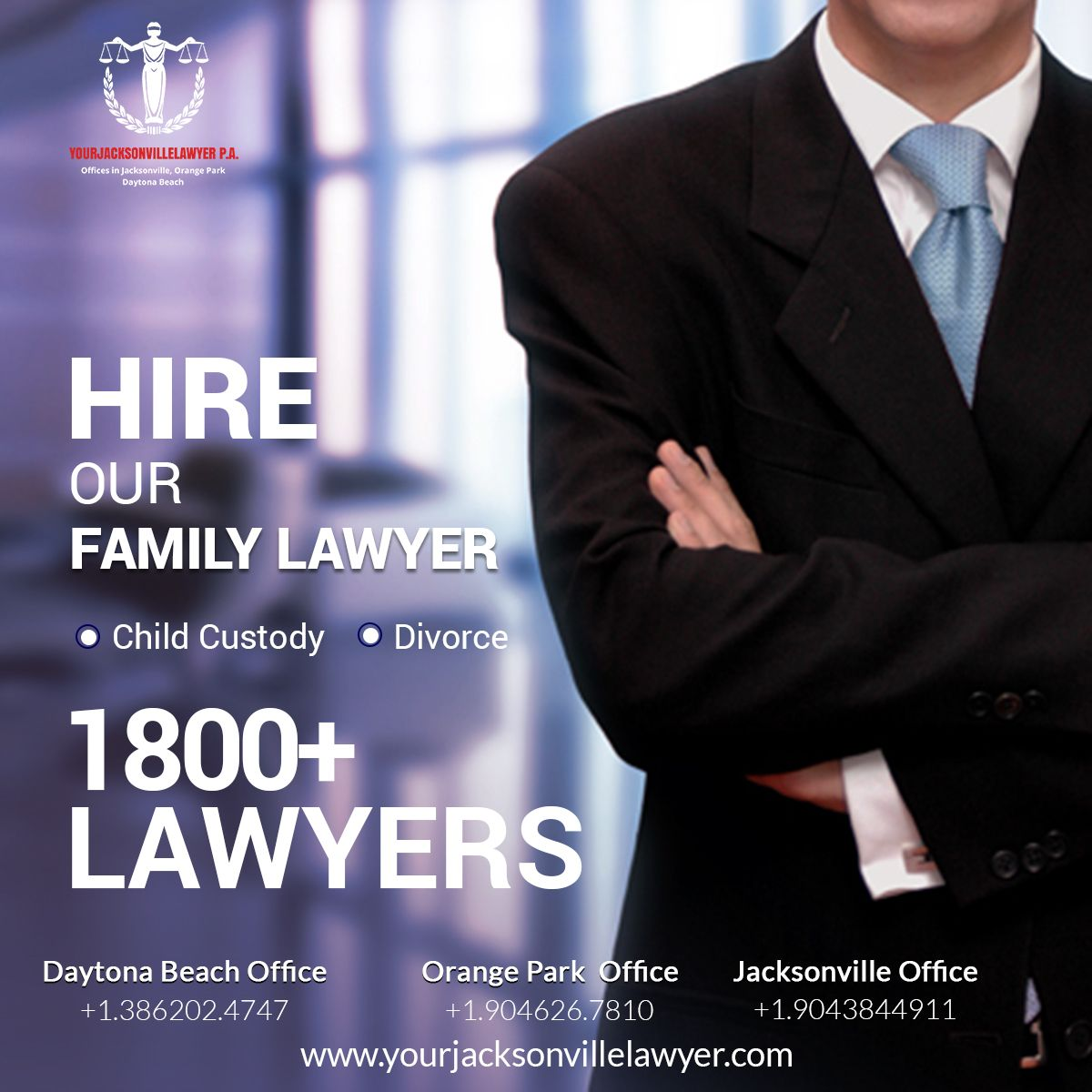 Hire Our Family Law Lawyer In Jacksonville Orange Park And