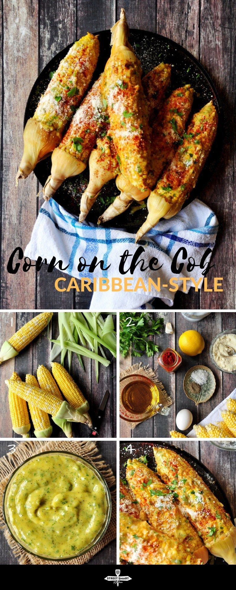 Caribbean-Style Corn on the Cob images