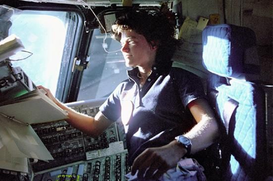 Sally Ride: This June 1983 photo shows astronaut Sally Ride. IMAGE (AP Photo: File) 1951 - 2012