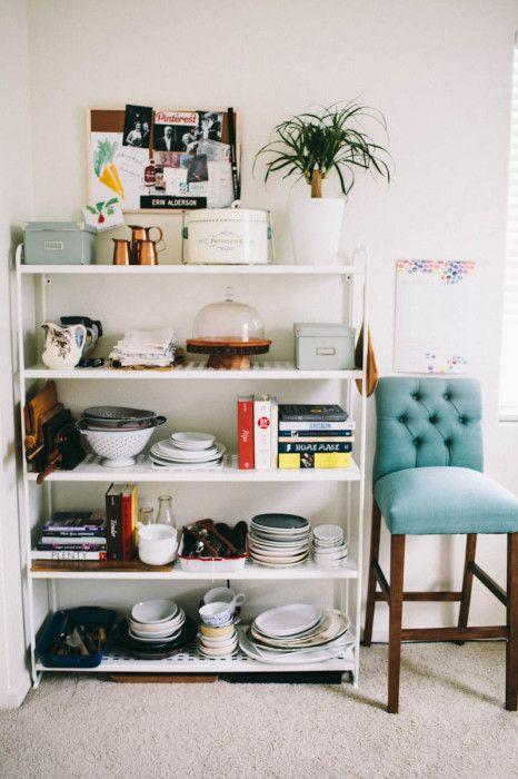 Rooms: Ikea Mulig Shelving Unit // Kitchen Storage