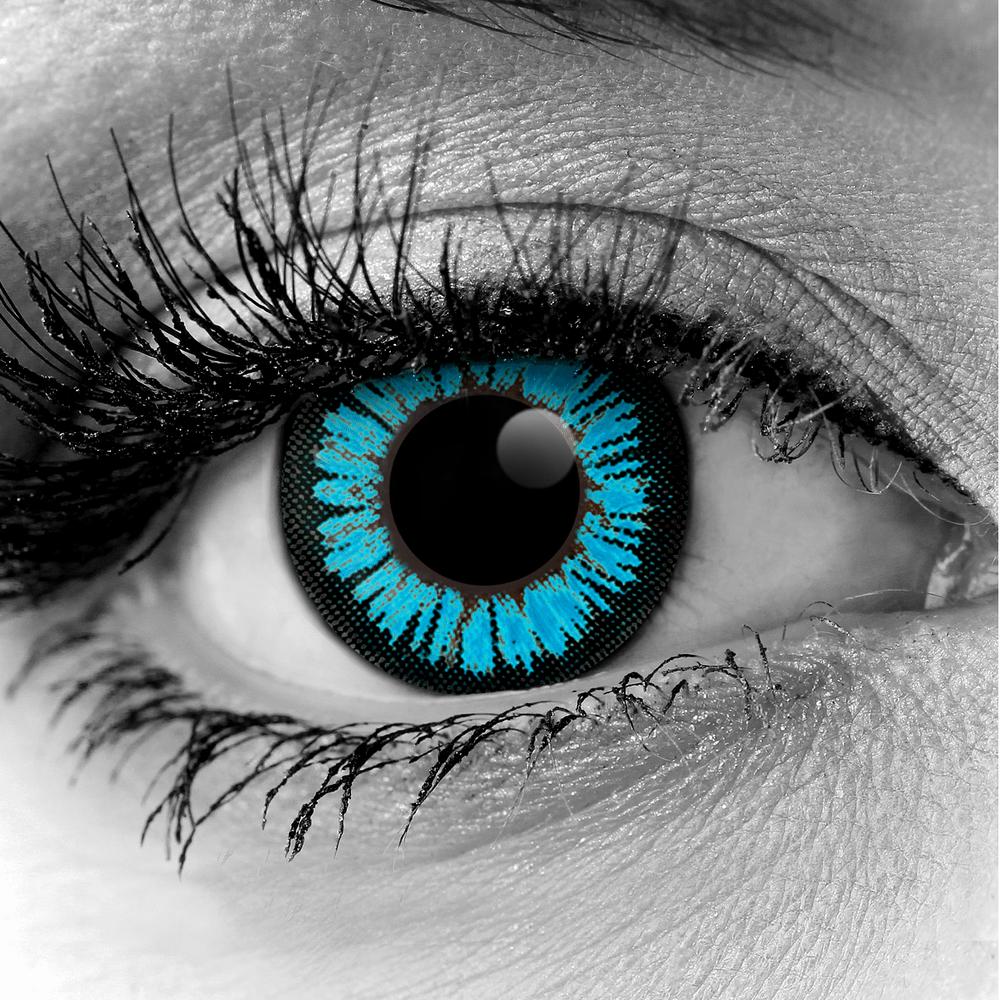 Aqua Colormax Fx Contact Lenses Pair Vampfangs Cat Eye Contacts Eye Contact Lenses Contact Lenses Colored