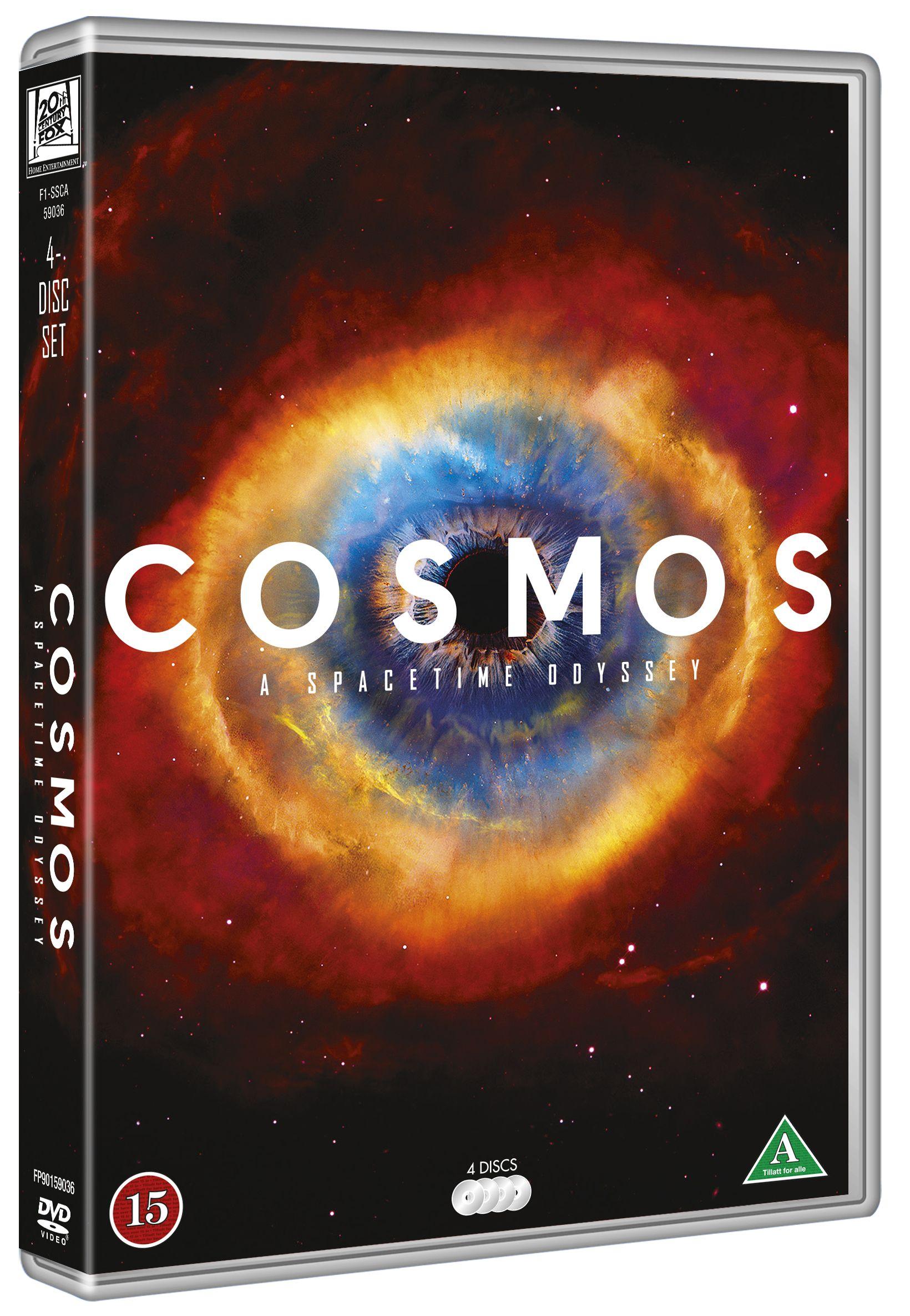 Filmihullu-leffakauppa, Sähkötalon 1. krs. Cosmos: Kaikki elämästä (2014)  29 € / 4 DVD. Unohtumaton seikkailu.