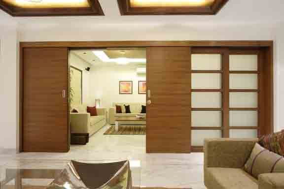 Living Room Design Ideas Sliding Doors By Mahesh Punjabi Associates Interior Designer Architect Living Room Partition Contemporary Decor Living Room Living Room Designs Drawing room door design images