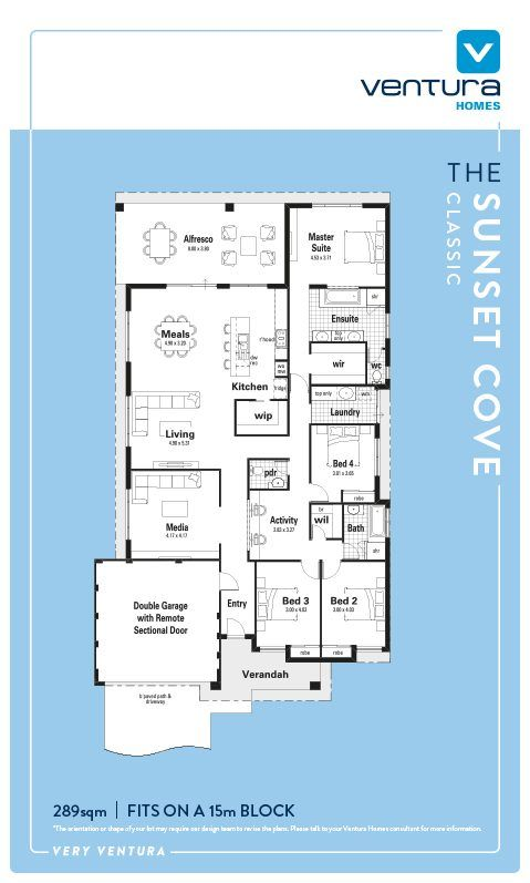 Introducing The Sunset Cove Display Home by Ventura Homes – Sunset Home Plans