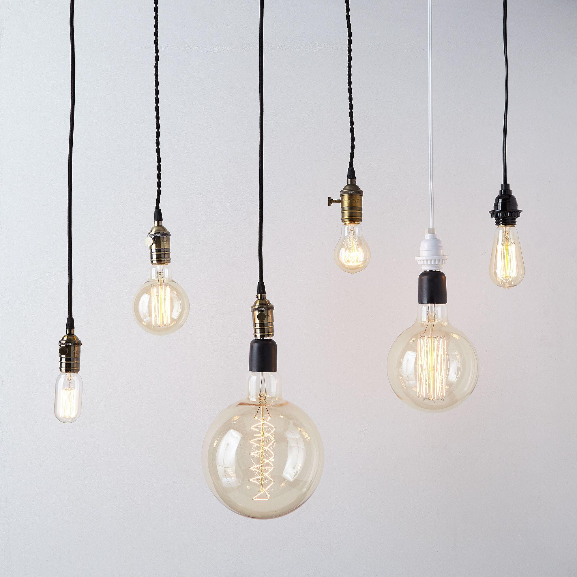 Pendant Filament Bulbs On Food52 Filament Bulb Light Bulb Bulb
