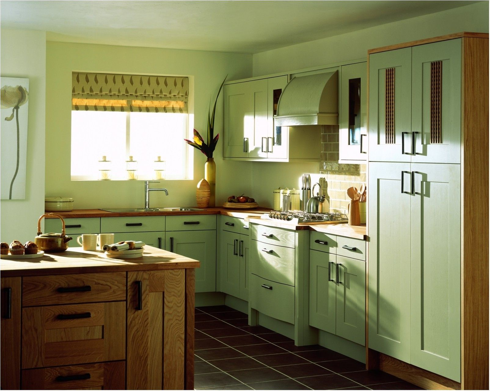 45 Awesome Sage Greens Kitchen Cabinets Decorating ...