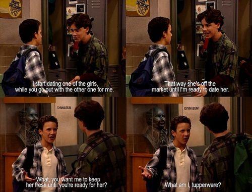 jongen ontmoet wereld wanneer doen Cory en Topanga start dating
