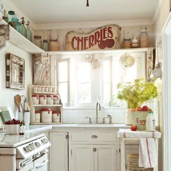 Make the Most of a Small Kitchen! | Dandelions, Kitchens and Kitchen ...