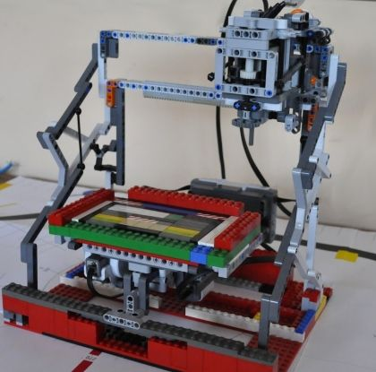 Lego 3D PrintingMilling Machine (With images) Lego 3d