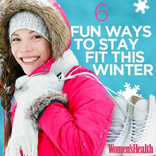 how to stay healthy and fit during winter